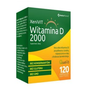 XenicoPharma  XeniVIT Witamina D3 2000 j.m. – 120caps.
