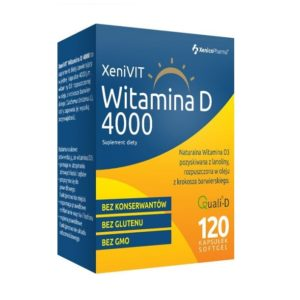 XenicoPharma   XeniVIT Witamina D3 4000 j.m. – 120caps.