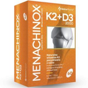 XenicoPharma Menachinox K2+D3 2000 – 60caps.