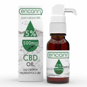 ENCANN Olej Konopny CBD 5% – 10ml