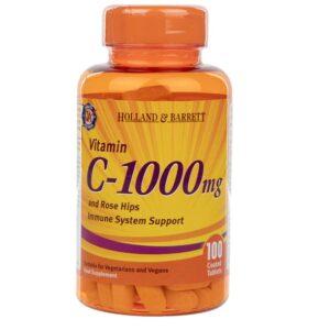 Holland & Barrett Witamina C-1000 – 100tabl.