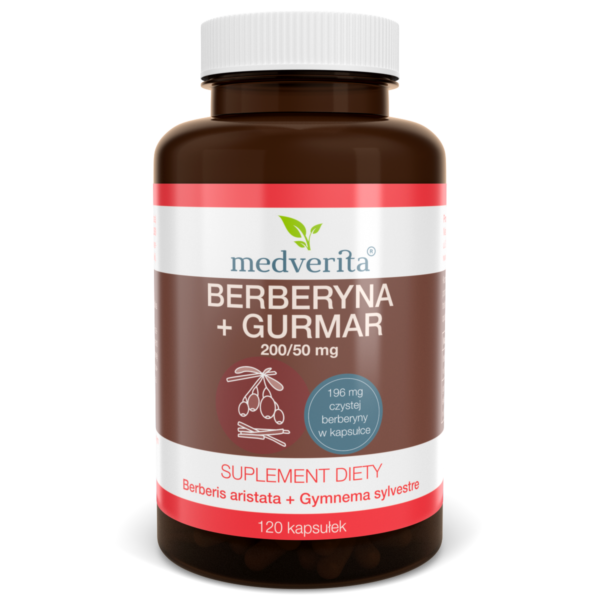 Medverita , suplement diety, berberyna