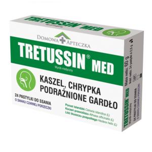 Domowa Apteczka Tretussin Med -24 Pastylki do ssania