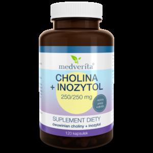 Medverita Cholina + Inozytol – 120caps.