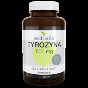 Medverita Tyrozyna (500mg) – 100caps.