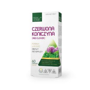 Medica Herbs Czerwona Koniczyna, suplement diety, zielarnia klasztorna