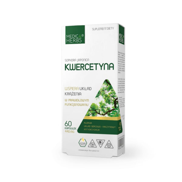 medica herbs kwercytyna, suplement diety,zielarnia klasztorna