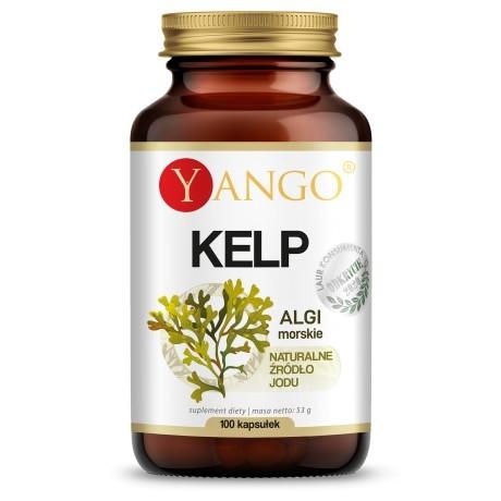 Yango Kelp, suplement diety, zielarnia klasztorna