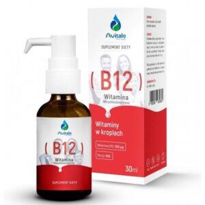 Avitale, b12, suplement diety