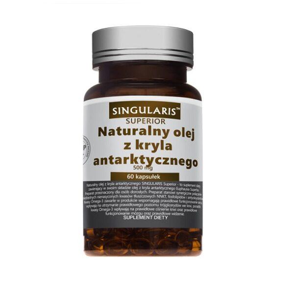 Singularis, olej z kryla, suplement diety